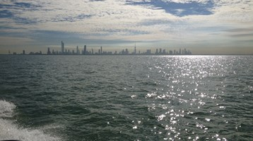 Marine monitoring for Kuwait EPA